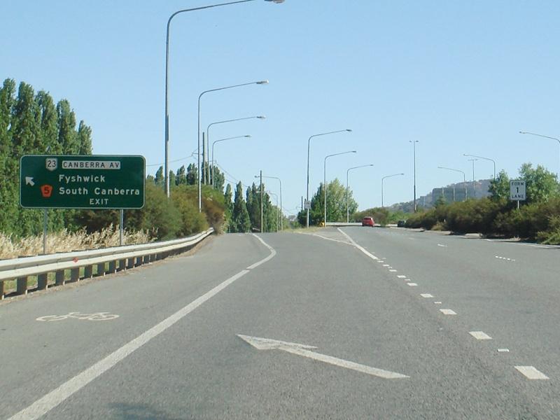 Road Photos & Information: Australian Capital Territory: Northbourne