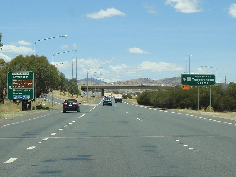 Road Photos & Information: Australian Capital Territory: Northbourne