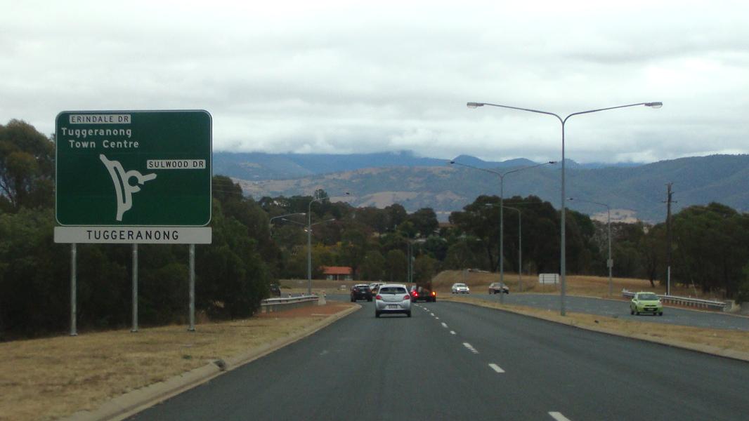 Road Photos & Information: Australian Capital Territory