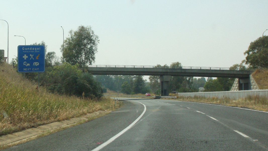 Road Photos & Information: New South Wales: Hume Motorway