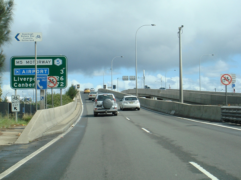 Road Photos & Information: New South Wales: Hume Highway (South