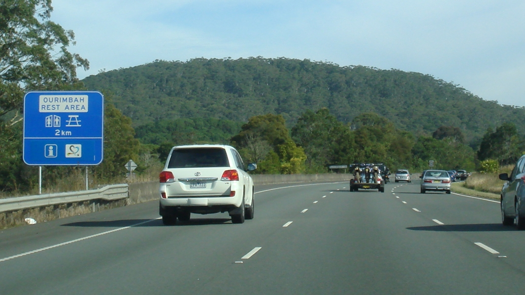 Ourimbah rest stop