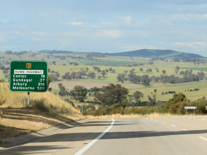 Road Photos & Information: New South Wales: Hume Highway