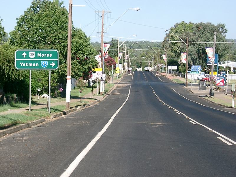 road photos information new south wales gwydir highway national route 38 moree to. Black Bedroom Furniture Sets. Home Design Ideas