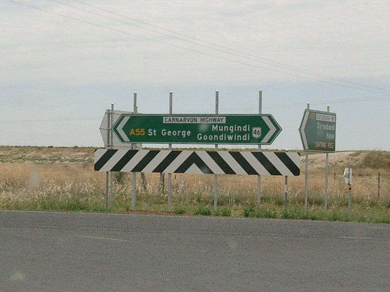 A55 road (Queensland)
