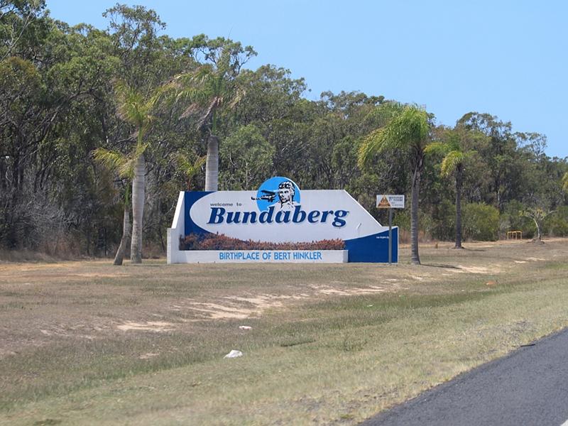 Road Photos & Information: Queensland: Isis Highway, Hinkler ...