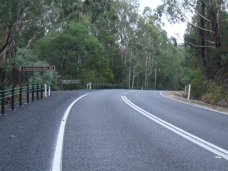 Road Photos & Information: Victoria: Monaro Highway (B23)