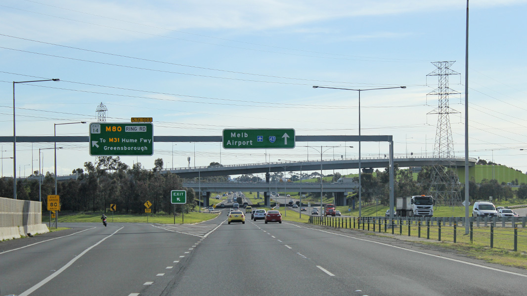 Western Ring Road To Airport